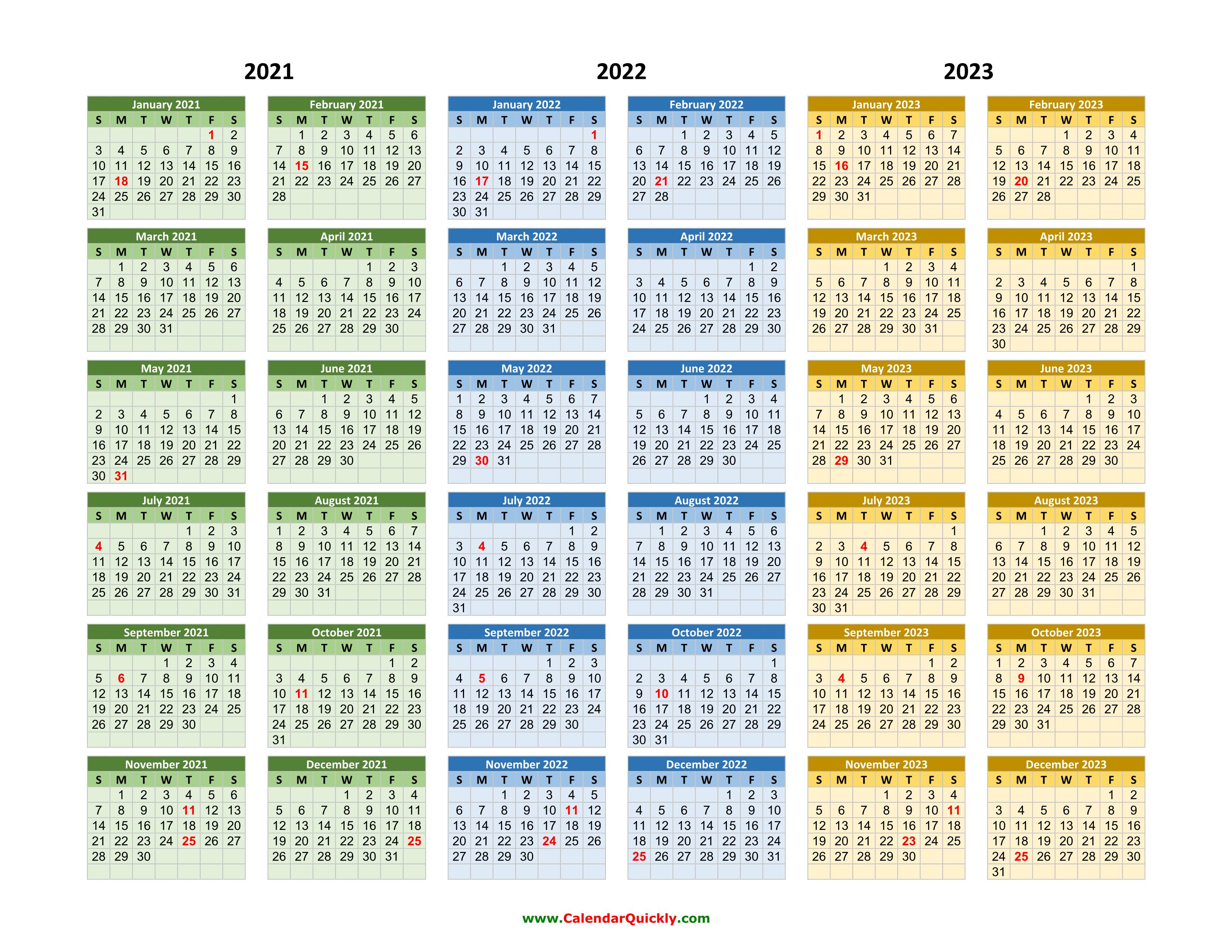 Calendar 2022 2023.2021 2022 2023 Calendar Calendar Quickly